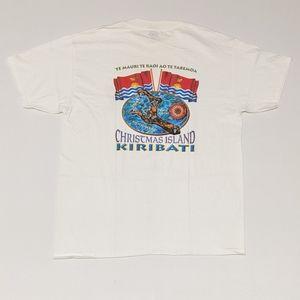 Vintage Kiribati Christmas Island T-shirt